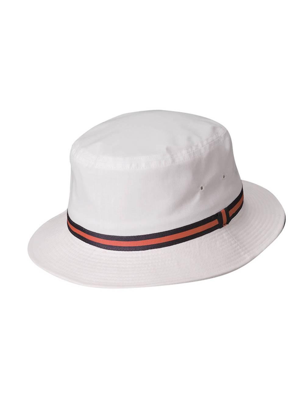 Scala Classico Rain Hat - Bucket Hat by Dorfman Pacific White Small 5ad7bf4a7c6
