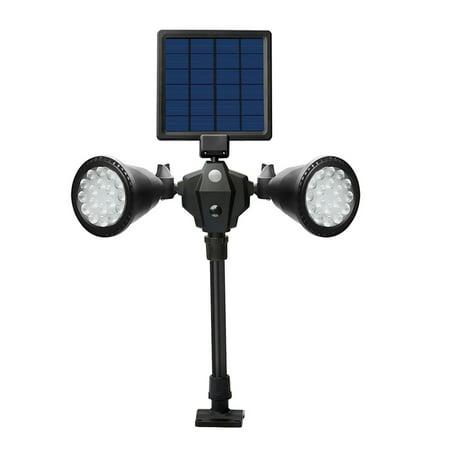 2 in 1 Solar Wall Lights in-Ground Lights Outdoor Solar Spotlight, Solar Lights Motion Sensor Outdoor Security Light, Auto On/Off Landscape Light for Patio Yard Garden