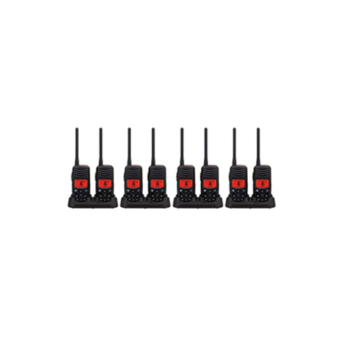 Standard Horizon HX100 (8 Pack) Handheld VHF Radio Twin Pack by Standard Horizon