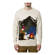 Staple Mens The Woodsman Pullover Sweater, beige, XX-Large