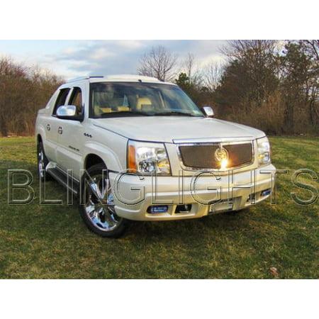 2002 2003 2004 2005 2006 Cadillac Escalade ESV EXT Xenon Fog Lamps Driving Lights Foglamps Kit