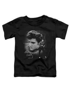 Elvis Presley Sweater Toddler T-Shirt Black