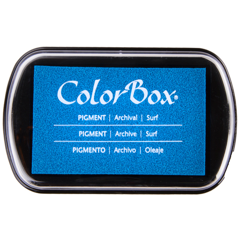 Ink Pad Colorbox Pigment Surf Blue