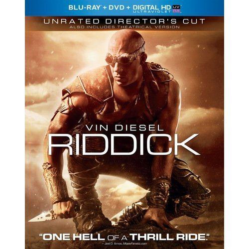 Riddick (Unrated) (Blu-ray + DVD + Digital HD) (With INSTAWATCH)