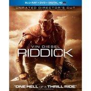 Riddick (Unrated) (Blu-ray + DVD + Digital HD)