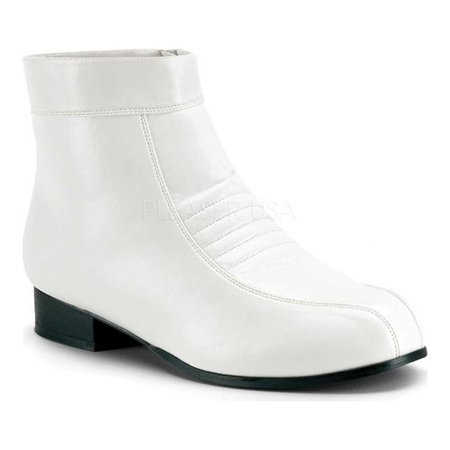 White Pimp Shoes (Men's Funtasma Pimp 50)