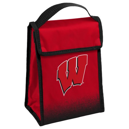 Wisconsin Badgers Official NCAA Velcro Lunch Box Bag by Forever Collectibles 067795
