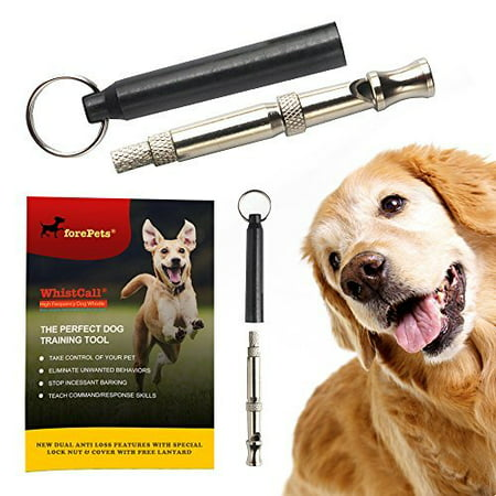 PROFESSIONAL Dog Whistle To Stop Barking | with PROVEN Training Guide | BEST New Anti Loss Version | FREE Lanyard | 100% | (Best Dogs For Apartments No Barking)