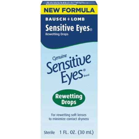 Bausch & Lomb Sensitive Eyes  Rewetting Drops, 1 oz