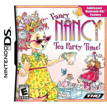 Fancy Nancy: Tea Party Time - Nintendo DS](Party D Halloween Jeux)