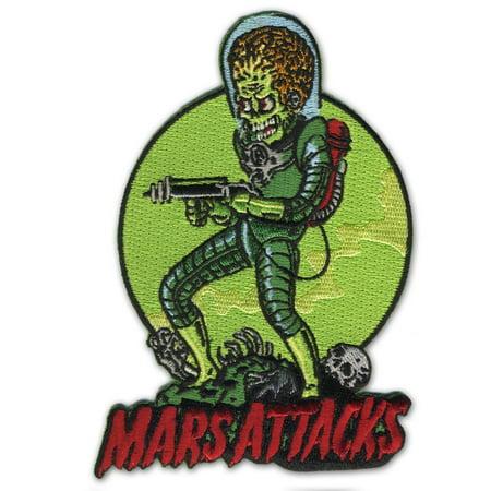 Retro A Go Go Mars Attacks Death Trooper Embroidered Patch