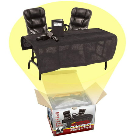 Breakaway Contract Signing Accessory Playset For WWE Wrestling Action Figures ()