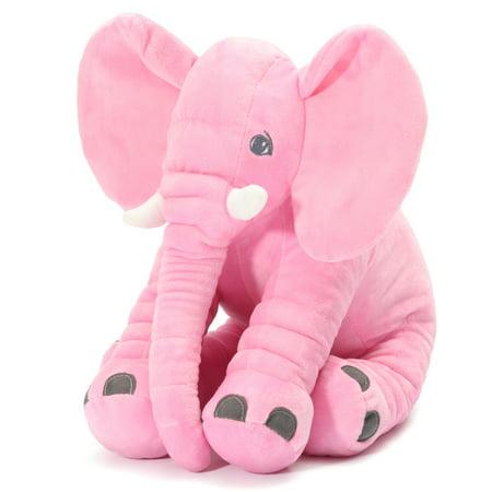 Stuffed Animal Pillow Elephant Children Soft Plush Doll Toy Baby