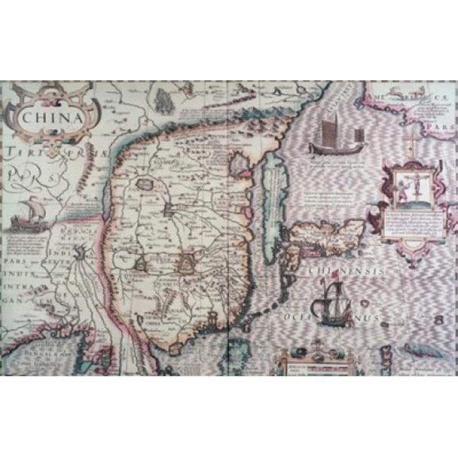 Posterazzi SAL260530 Map of China 17th Century Poster Print - 18 x 24 in. - image 1 de 1
