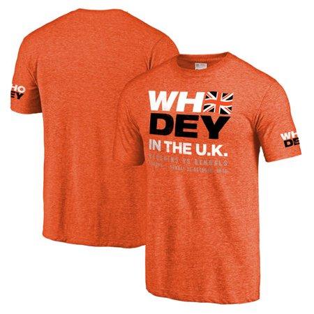 Men's NFL Pro Line Orange Cincinnati Bengals Who Dey in the UK - Halloween Stores In Cincinnati