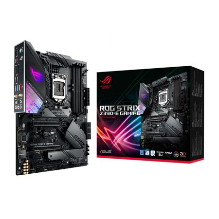 Asus ROG Strix Z390-E Gaming LGA 1151 (300 Series) Intel Z390 HDMI SATA 6Gb/s USB 3.1 ATX Intel (Xeon Sata Motherboard)