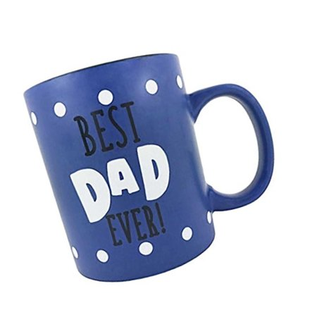 KINREX Best Dad Ever Coffee Mug Gifts