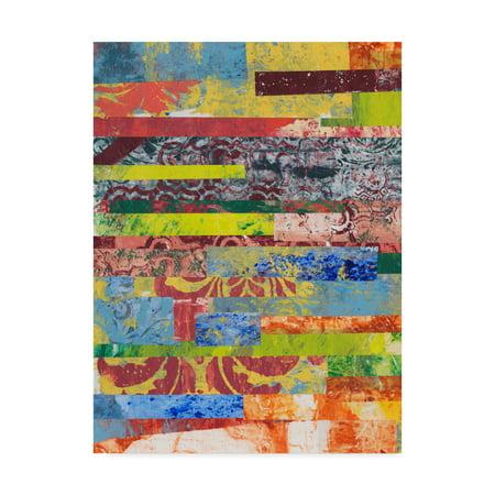 Trademark Fine Art 'Monoprint Collage I' Canvas Art by Regina Moore - Ac Moore Canvas