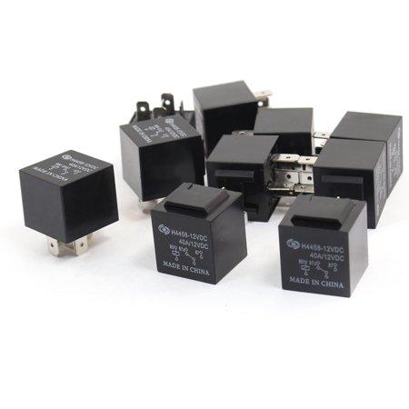 10 Pcs DC 12V 40A 5 Terminals SPDT Vehicle Car Alarm Relay - image 1 of 1