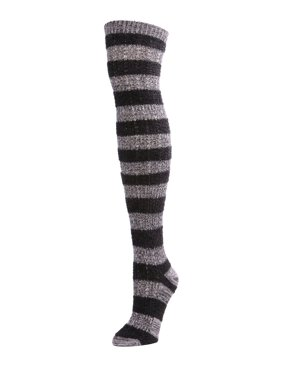 aa1164808 Product Image MeMoi Toulouse Over the Knee Striped Sock - Cute Socks for  Women by MeMoi One Size