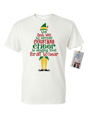 8d6bd994 Product Image Elf Spread Christmas Cheer Men Women Short Sleeve T-Shirt