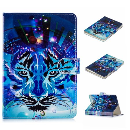 Universal Folio Case for 7-8 inch Tablet, Allytech Stand Case Cover with Stand for 7