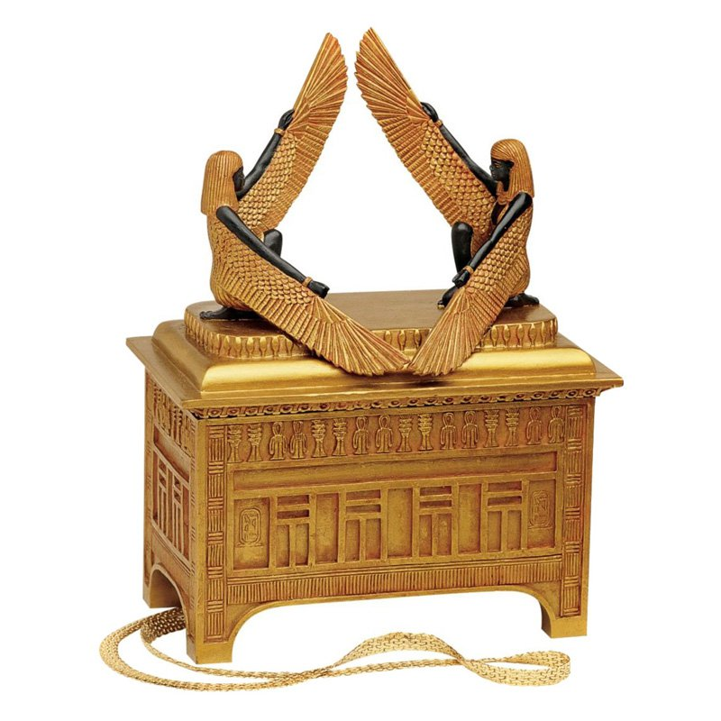Design Toscano The Ark of the Covenant Sculptural Box