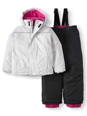 bcd4017259a1a Product Image Quilted Fleece Jacket with Hood and Removable Fur Trim (Little  and Big Girls)