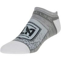 LAFC No Show Team Ankle Socks - Gray - OSFA