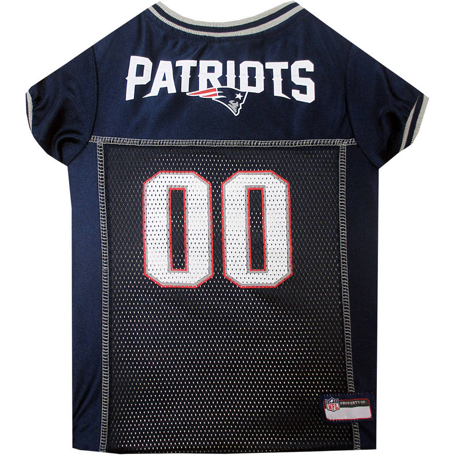 Pets First NFL New England Patriots Pet Jersey