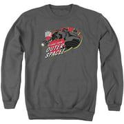 Iron Giant Outer Space Mens Crewneck Sweatshirt