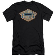 Night Ranger Logo Mens Slim Fit Shirt