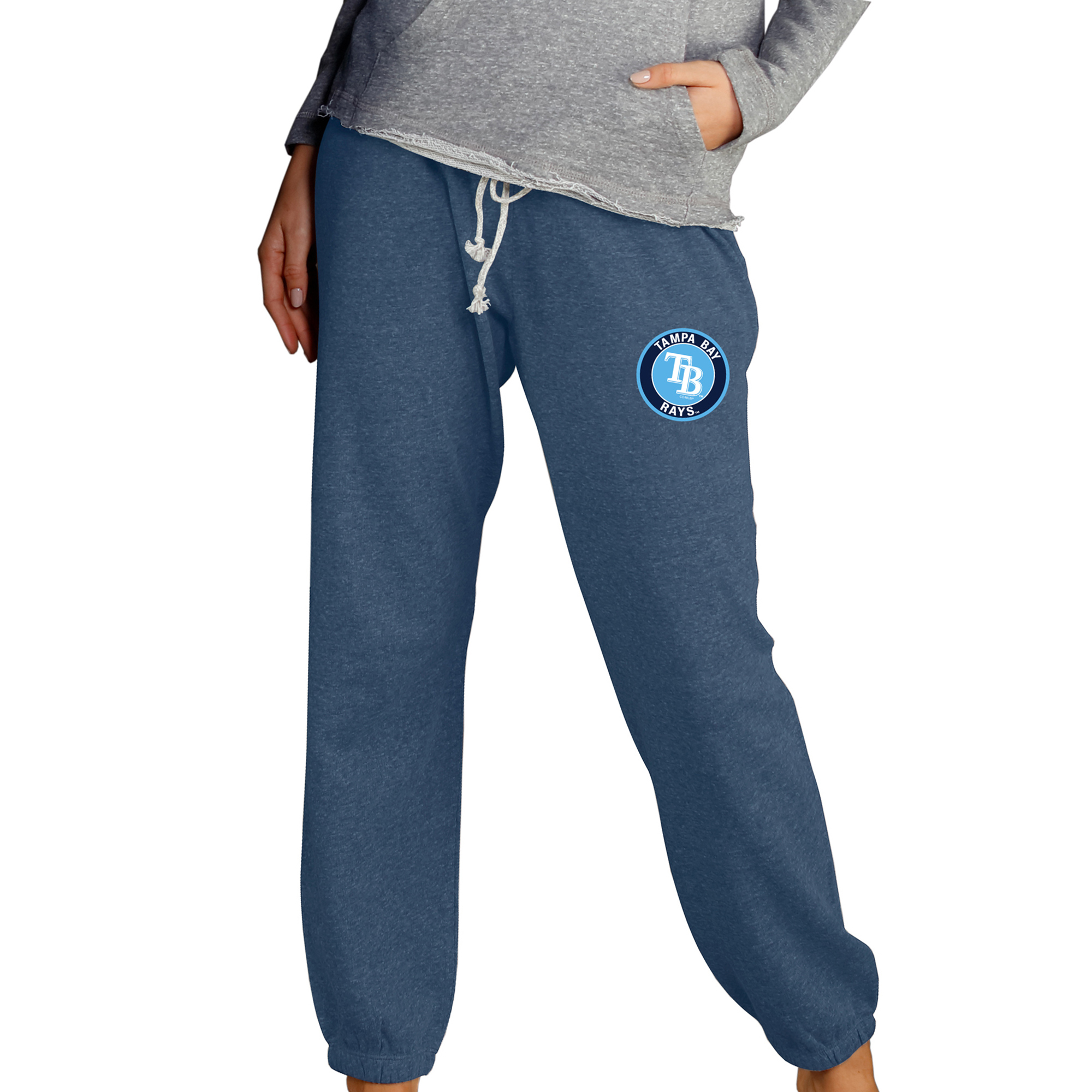 Tampa Bay Rays Concepts Sport Women's Mainstream Knit Pants - Navy