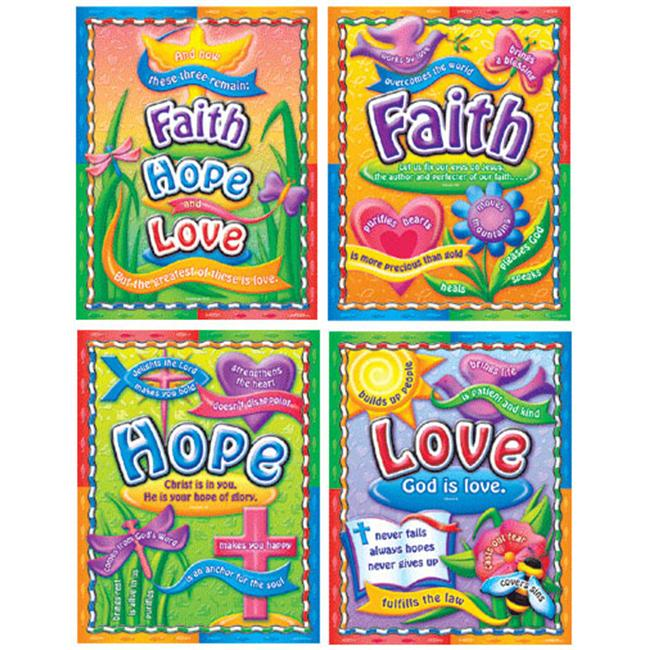 CARSON DELLOSA CD-210004 FAITH HOPE AND LOVE