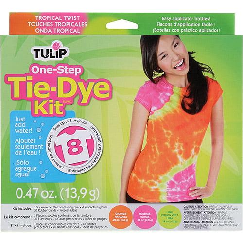 Tulip One-Step Tie Dye Kit, Tropical Twist