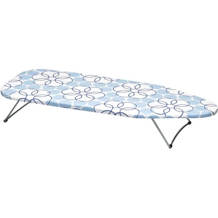 Household Essentials Tabletop Ironing Board with Stainless Steel Top