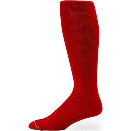 Pro Feet Multi Sport Socks (Pro Feet 110-112 Polyester Multi-Sport Tube Socks - Scarlet)