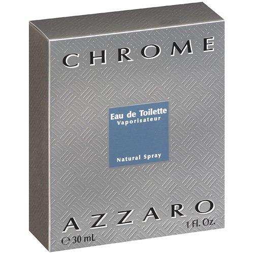 Azzaro Chrome Eau de Toilette 1.0 oz Spray for Men