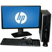 "Refurbished HP 6000 SFF Desktop PC with Intel Core 2 Duo E8400 Processor, 4GB Memory, 22"" LCD Monitor, 750GB Hard Drive and Windows 10 Pro"