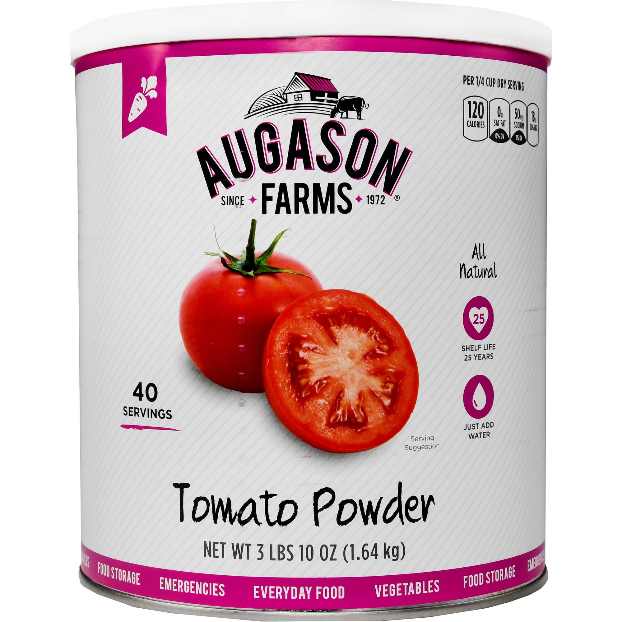Augason Farms Emergency Food Dehydrated Tomato Powder, 58 oz by Generic