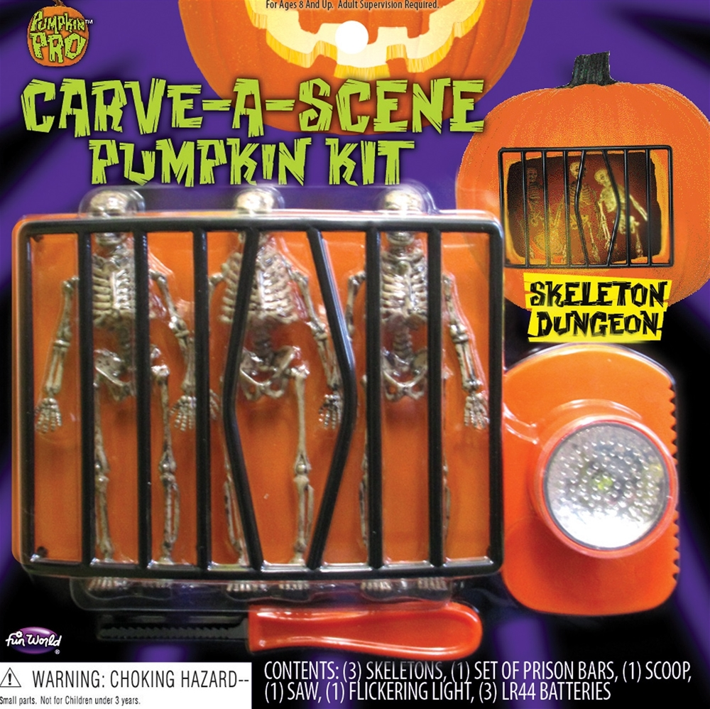 CARVE-A-SCENE PUMPKIN DECORATING KIT