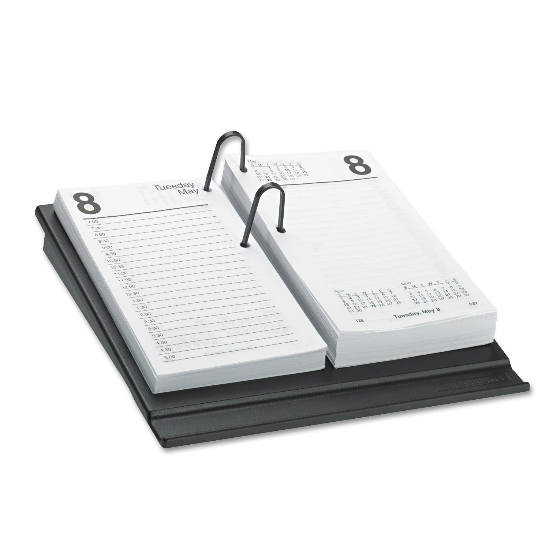 At A Glance Desk Calendar Refill 3 1 2 X 6 White 2018 Walmart Com