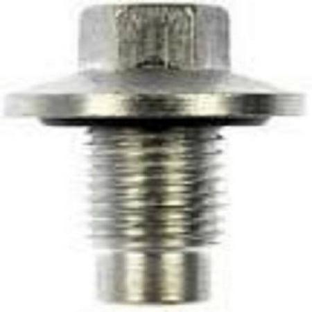 Drain Plugs, Universal, 1/2 Single, Oversize, Quantity Of 5
