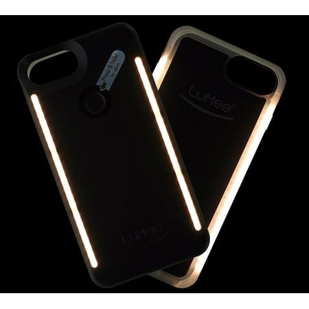 LuMee Duo LED Selfie Light Case for iPhone 7 Plus 6s Plus 6 Plus ...
