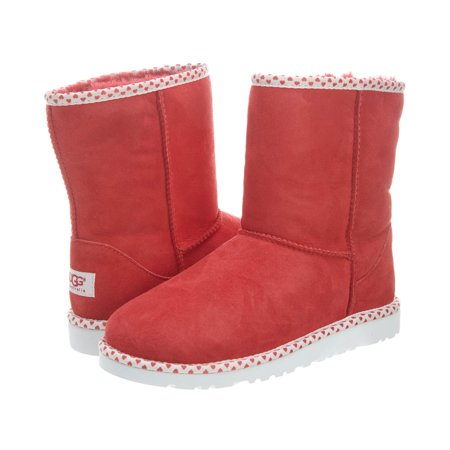 Ugg Classic Short Hearts Boots  Big Kids Style : 1005295y