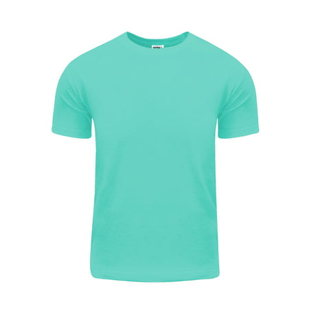 Shaka Wear Men's Active Premium Cotton Basic Short Sleeve T Shirt S~5XL