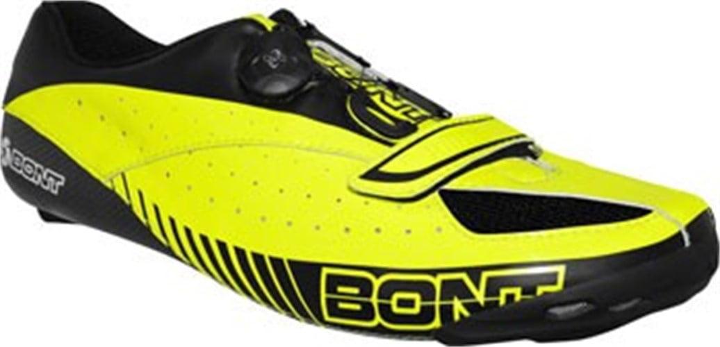 Bont Blitz Cycling Road Shoe: Euro 42.5 Neon Yellow/Black