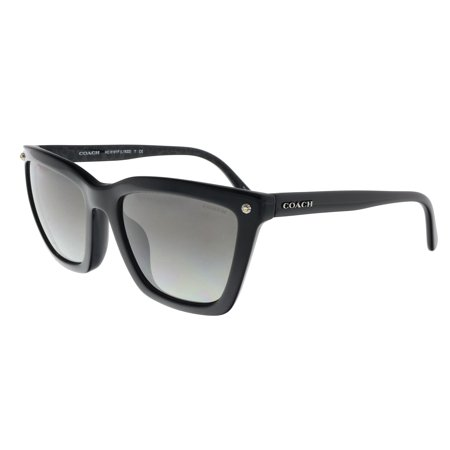 Coach HC8191F 542011 Black Square (Coach Glasses On Sale)