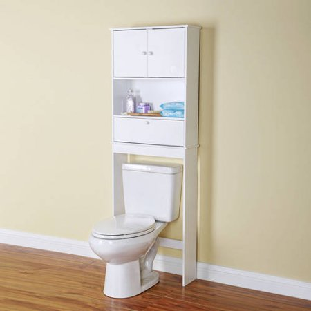 mainstays bathroom white space saver. Black Bedroom Furniture Sets. Home Design Ideas