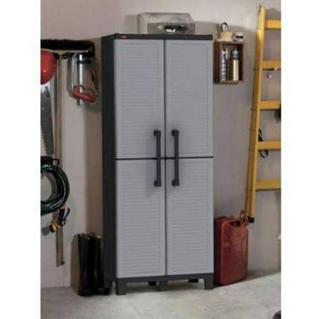 Keter E Winner Resin Storage Plastic Utility Cabinet 15 X 27